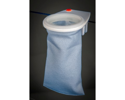 "Skimz Felt Filter Sock 4"" x 9.45"""