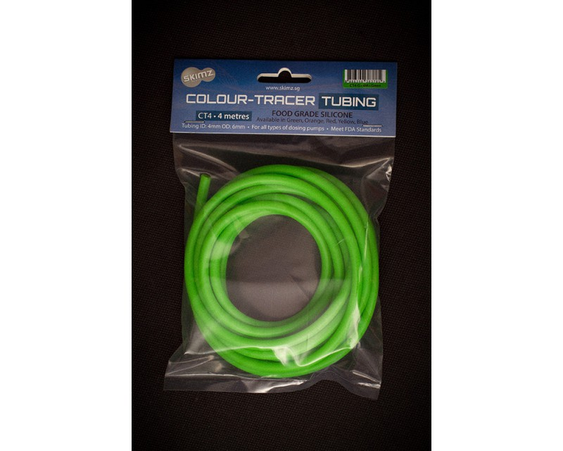 Skimz Colour-Tracer Tubing 8M - Green